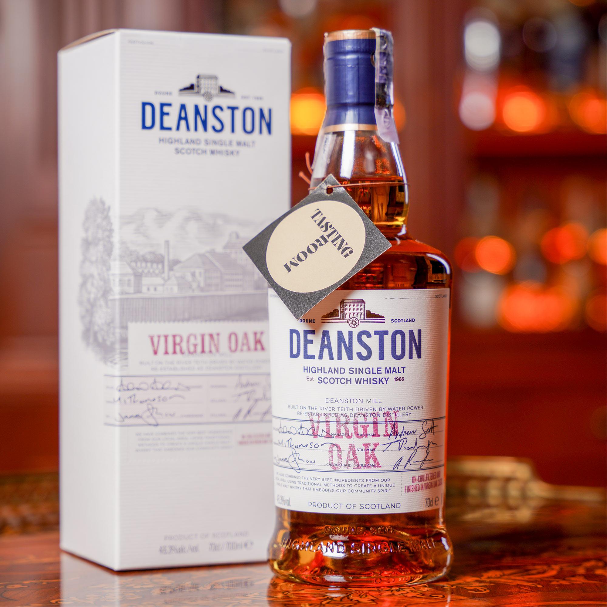 Deanston Virgin Oak /Дийнстън Върджин ОУК