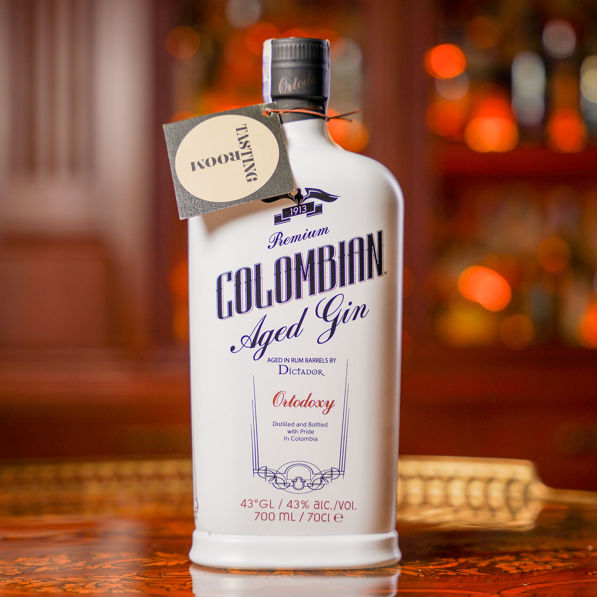 Dictador Premium Colombian Aged Gin Ortodoxy /Диктадор Премиум Коломбиан Отлежал Джин Ортодокси