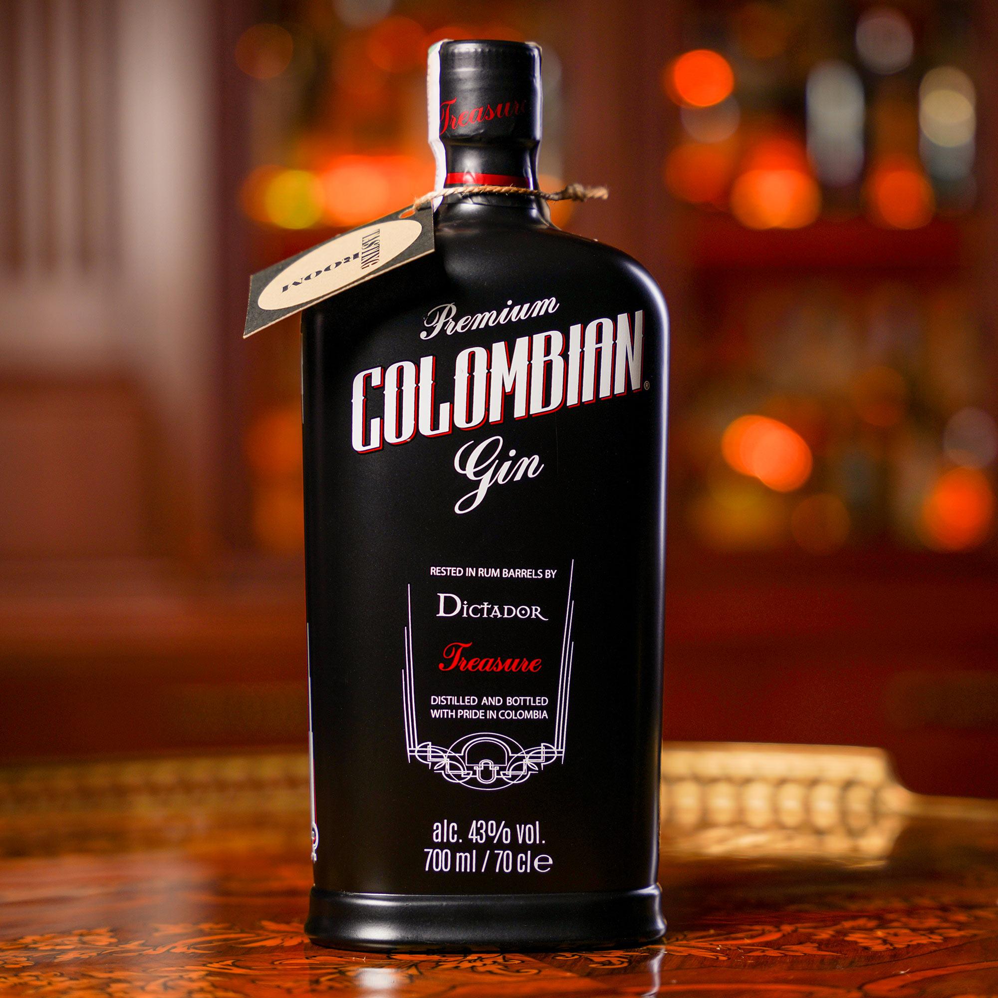 Dictador Premium Colombian Gin Treasure /Диктадор Премиум Колумбия Джин Трежър