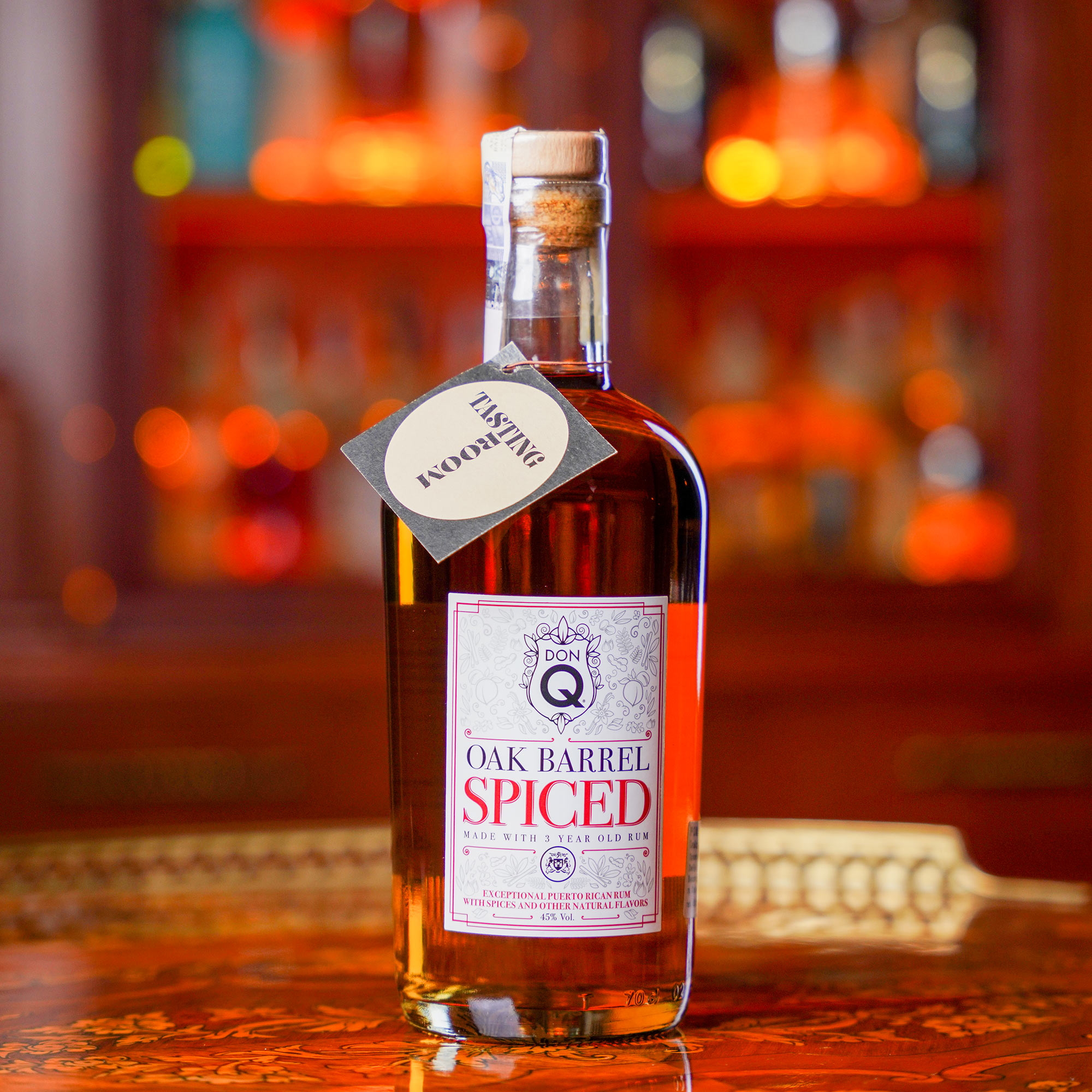 Don Q Oak Barrel Spiced /Дон Кю Оак Барел Спайс