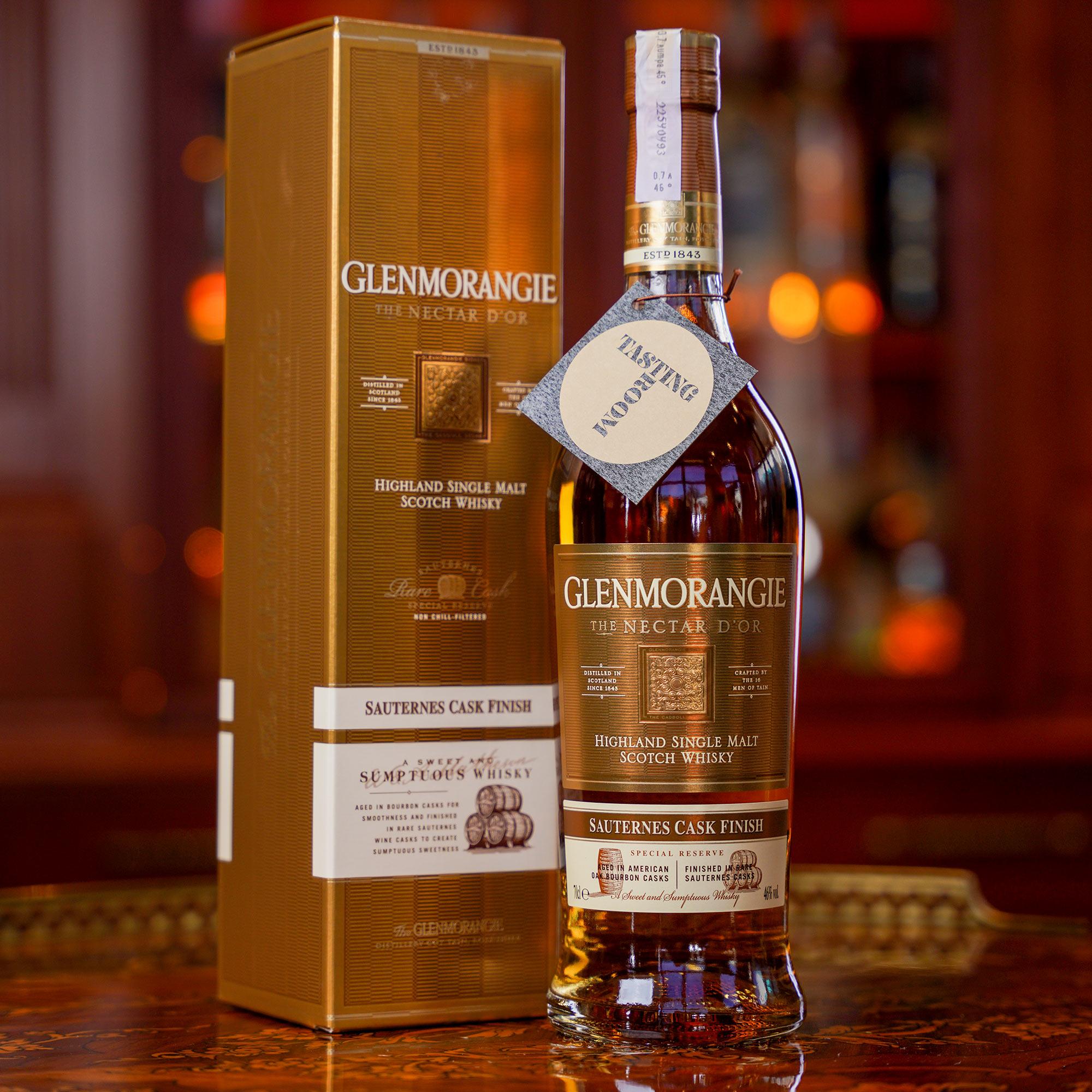 Glenmorangie The Nectar d'Or Sauternes Cask /Гленморанджи или Гленморанжи Нектар д'Ор Сутерн Каск