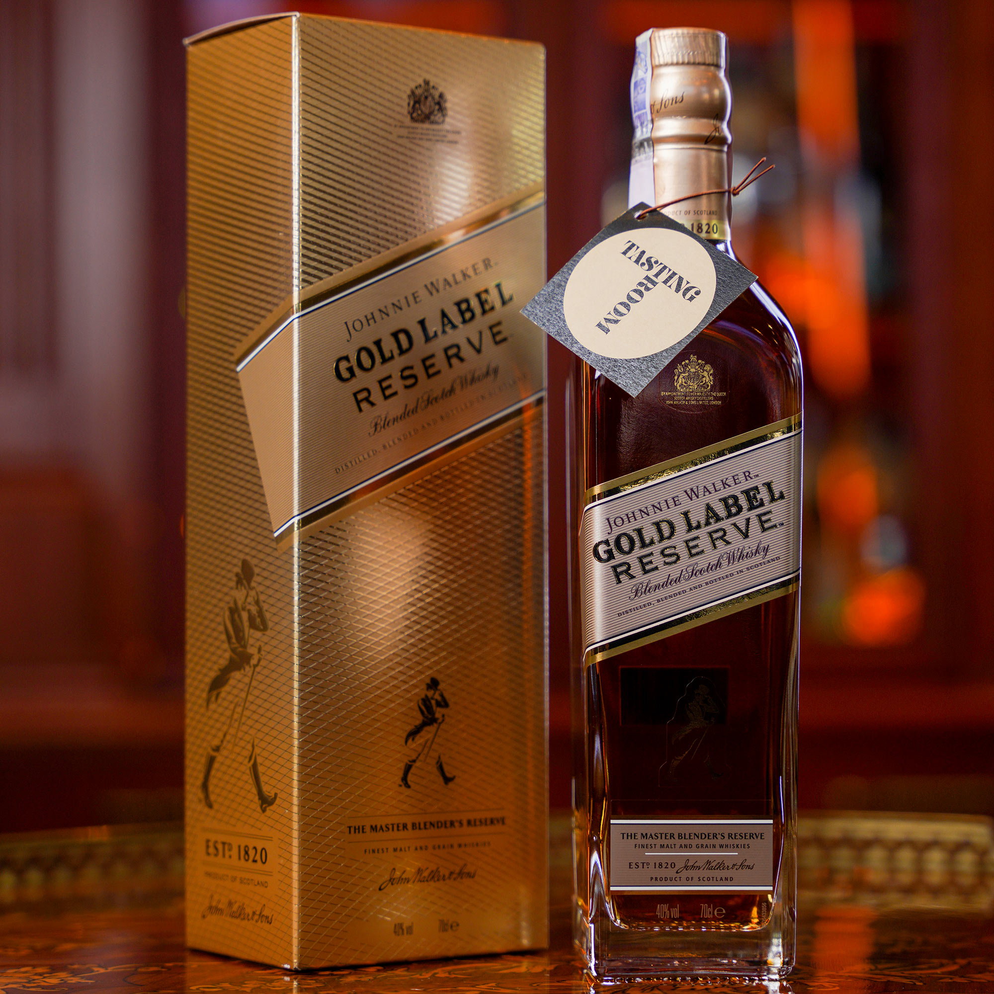 Johnnie Walker Gold Label Reserve /Джони Уокър Златен Етикет