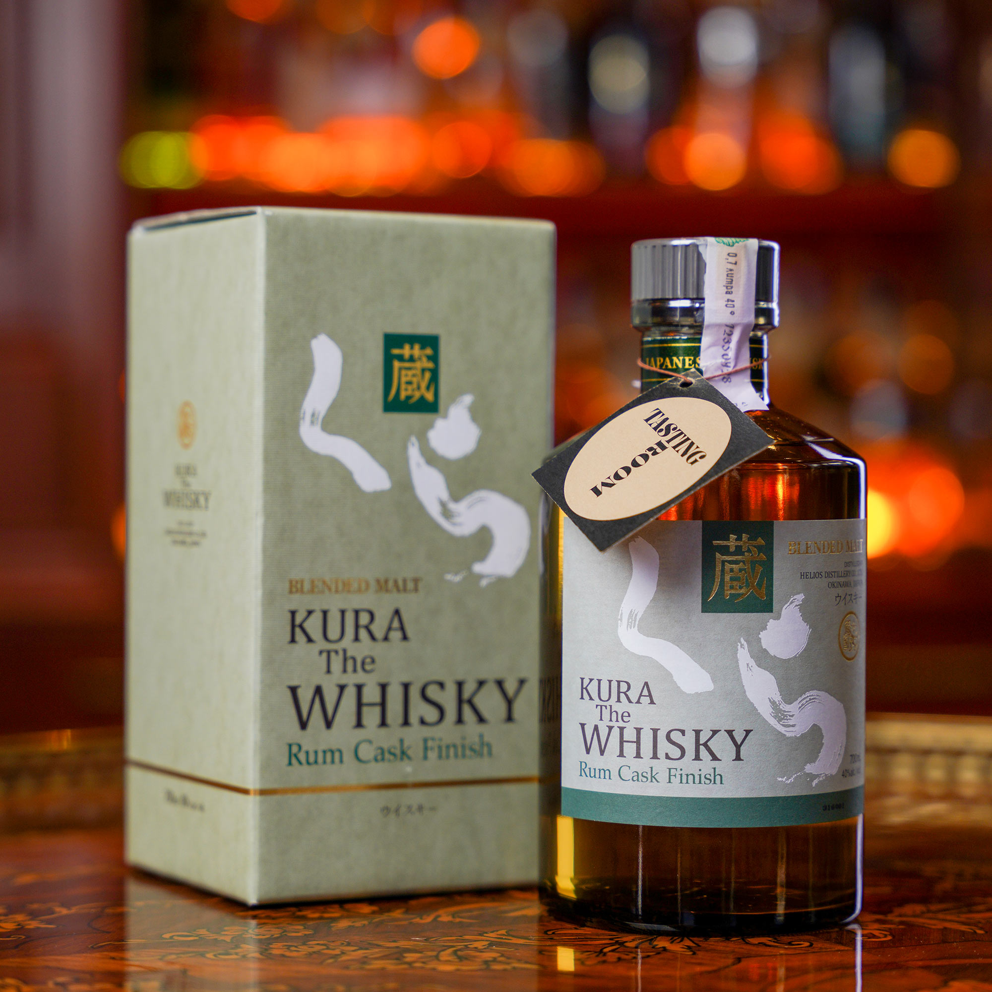 Kura The Whisky-Rum Cask Finish /Кура Дъ Уиски - Ром Каск Финиш