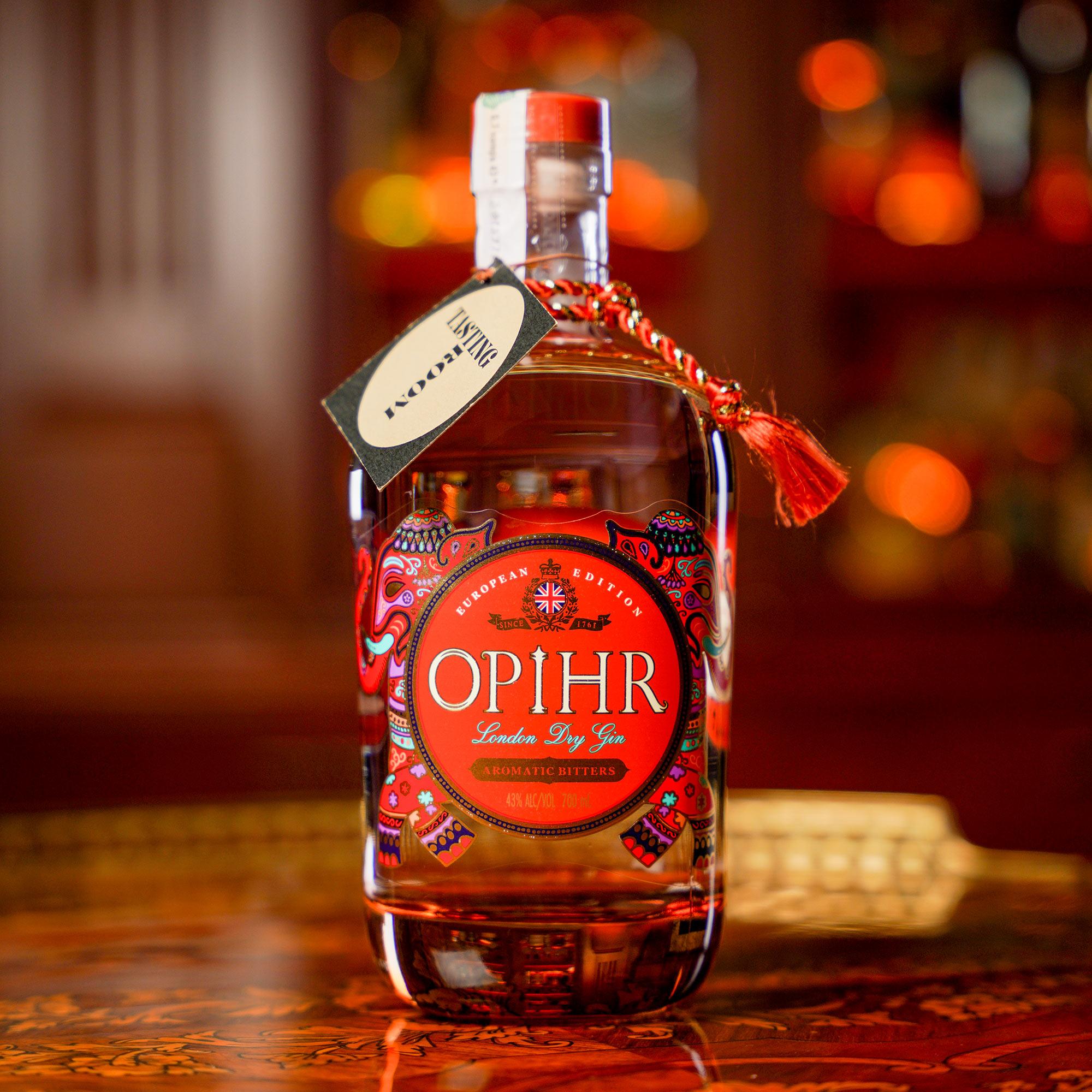 Opihr European Edition-Aromatic Bitters Gin /Опир Ароматик Битер Европейско издание Джин