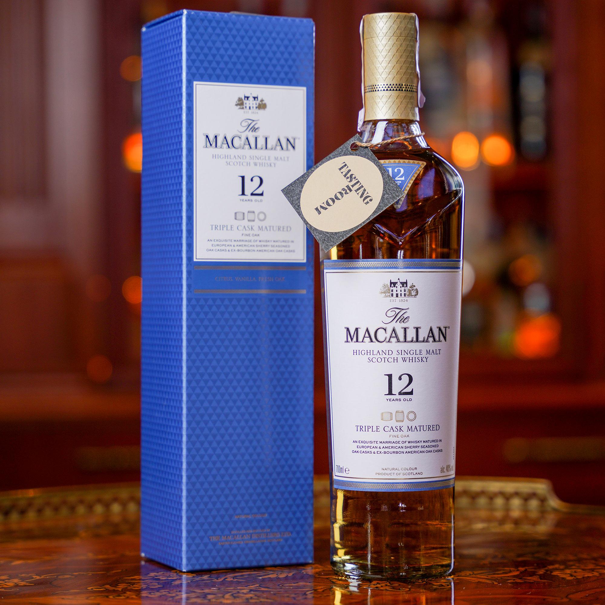 The Macallan 12 YO Triple Cask /Макалън 12-годишен Трипъл Каск