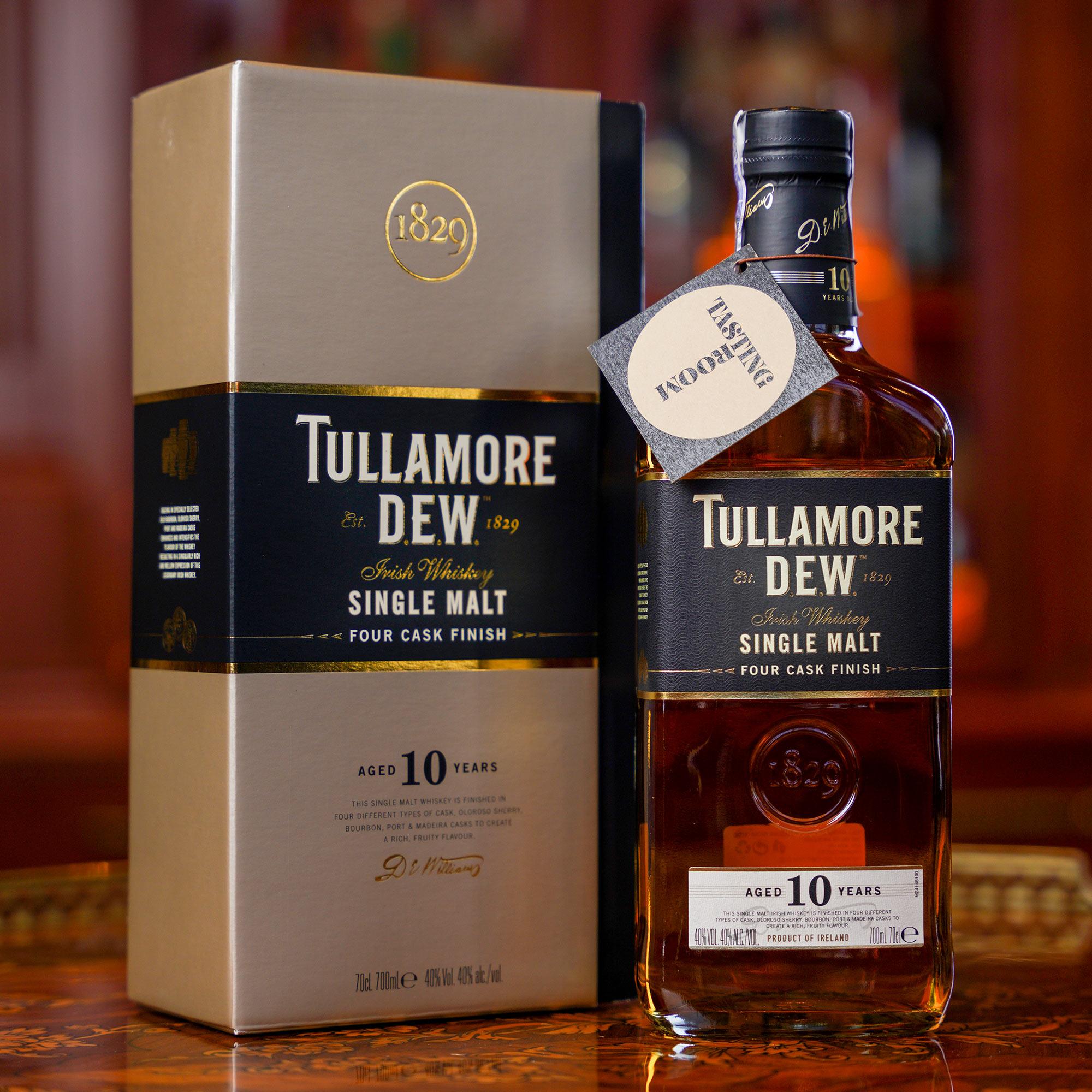 Tullamore DEW. 10 YO Single Malt /Тюламор Дю 10 годишен сингъл малц