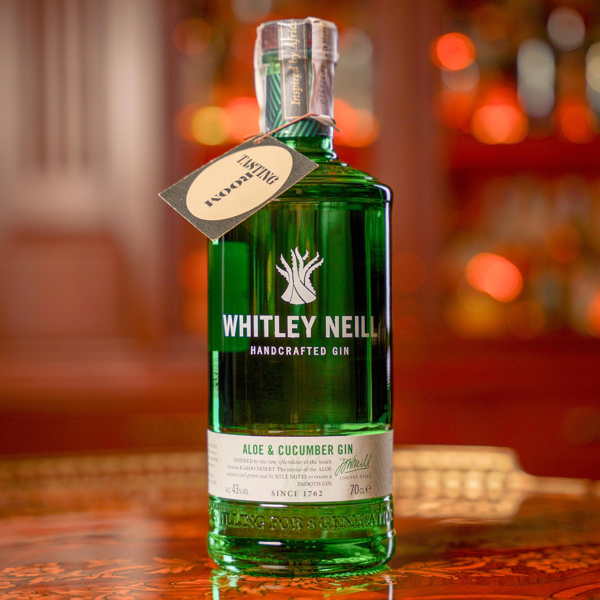 Whitley Neill Aloe and Cucumber Gin / Уитли Нийл Алое и Краставица Джин