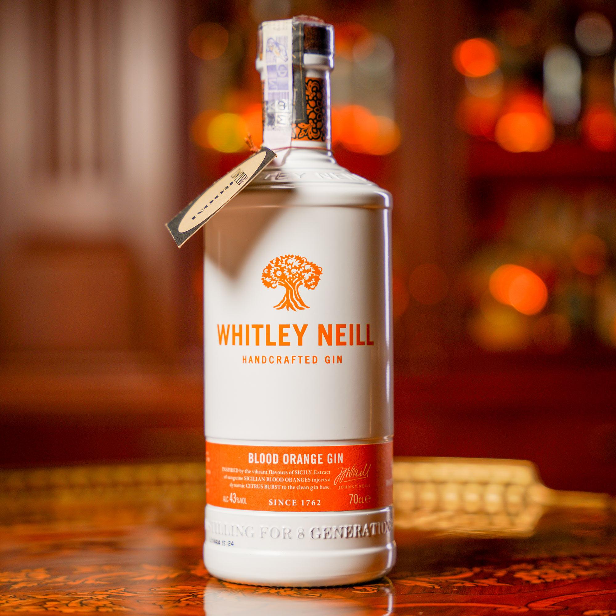 Whitley Neill Blood Orange Gin /Уитли Нийл Червен или Кървав Портокал Джин
