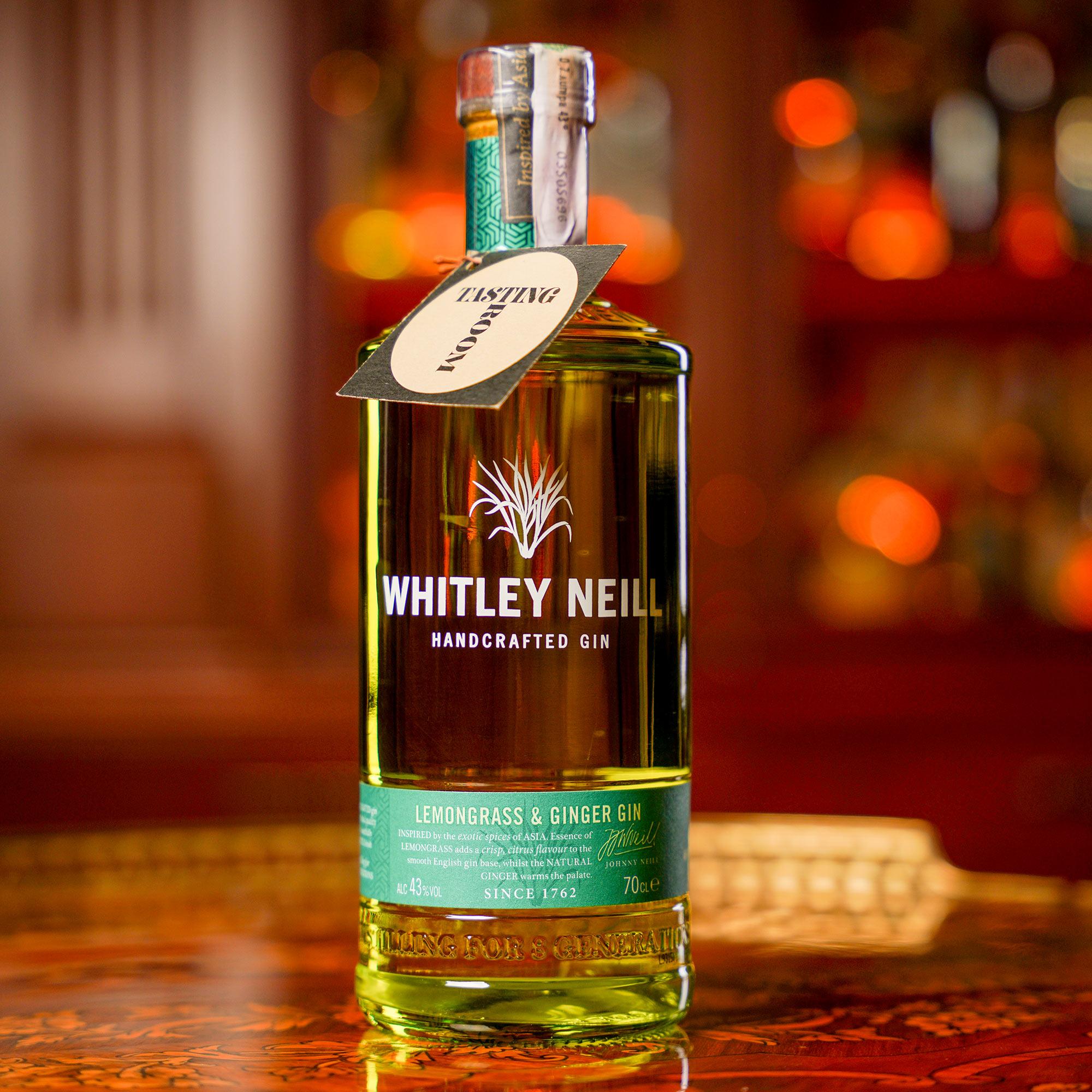Whitley Neill Lemongrass and Ginger Gin /Уитли Нийл Лемънграс или Лимонена Трева и Джинджифил Джин