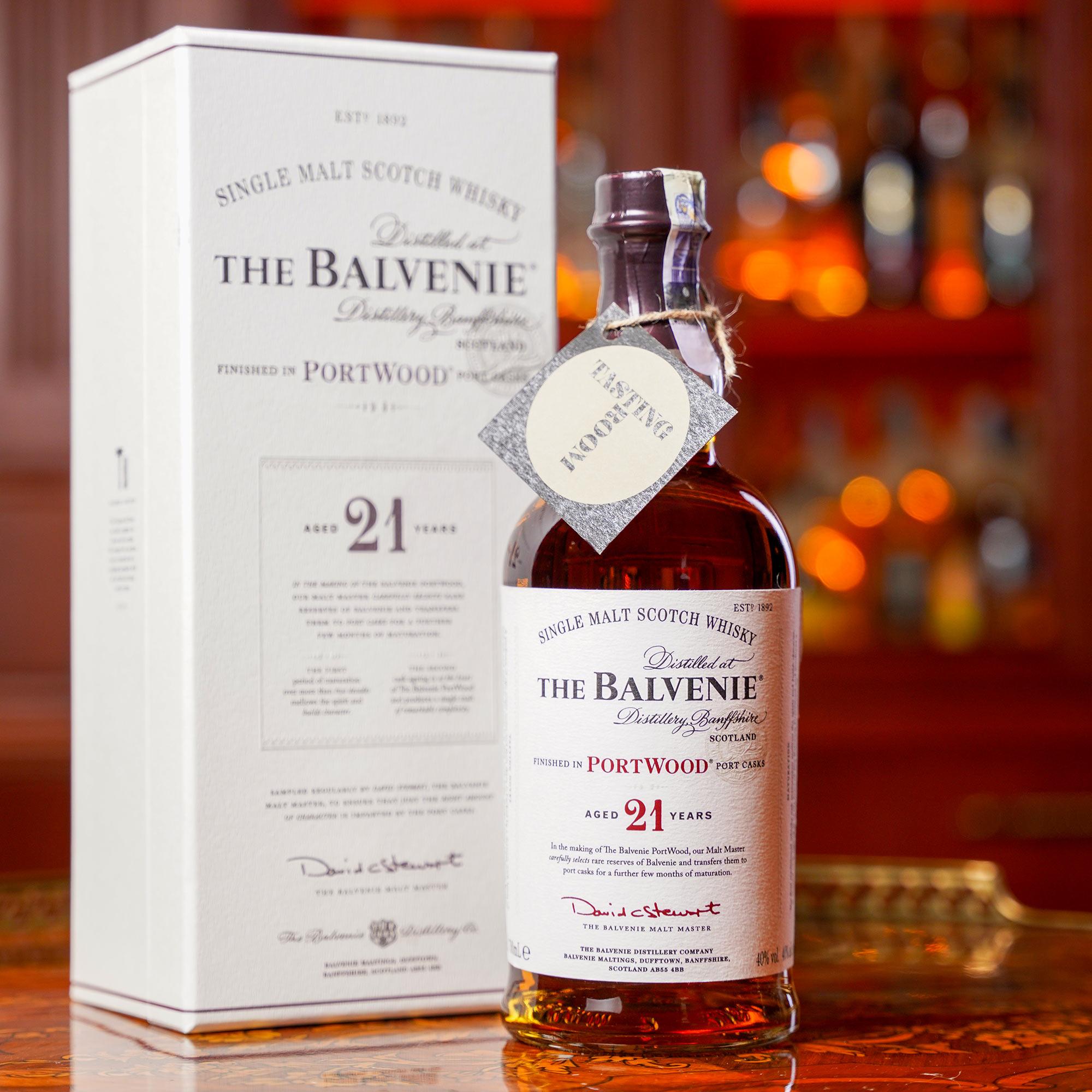 The Balvenie 21 YO PortWood /Балвени, Балвений или Балвание 21 годишно ПортУуд
