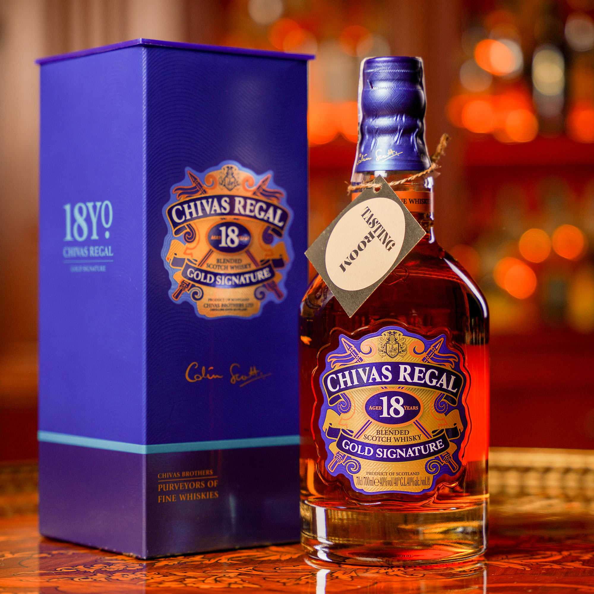 Chivas Regal 18 YO /Чивас Регал 18 годишен