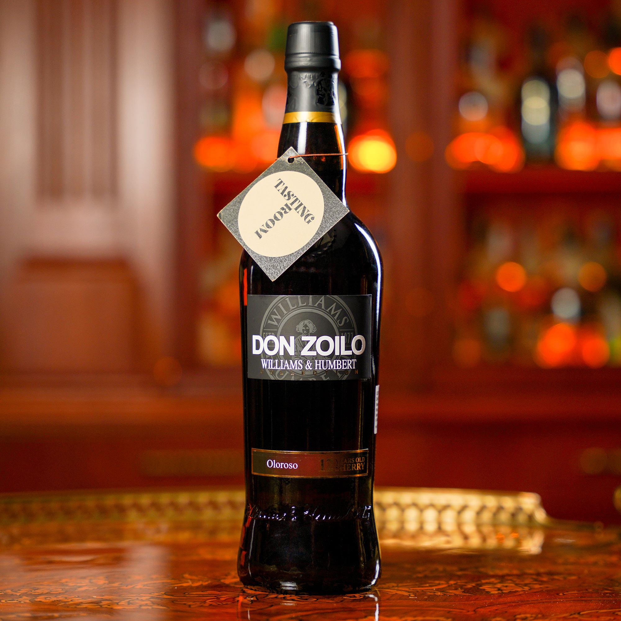 Don Zoilo Oloroso Sherry 12 YO /Дон Зоило Шери Олоросо 12 годишно