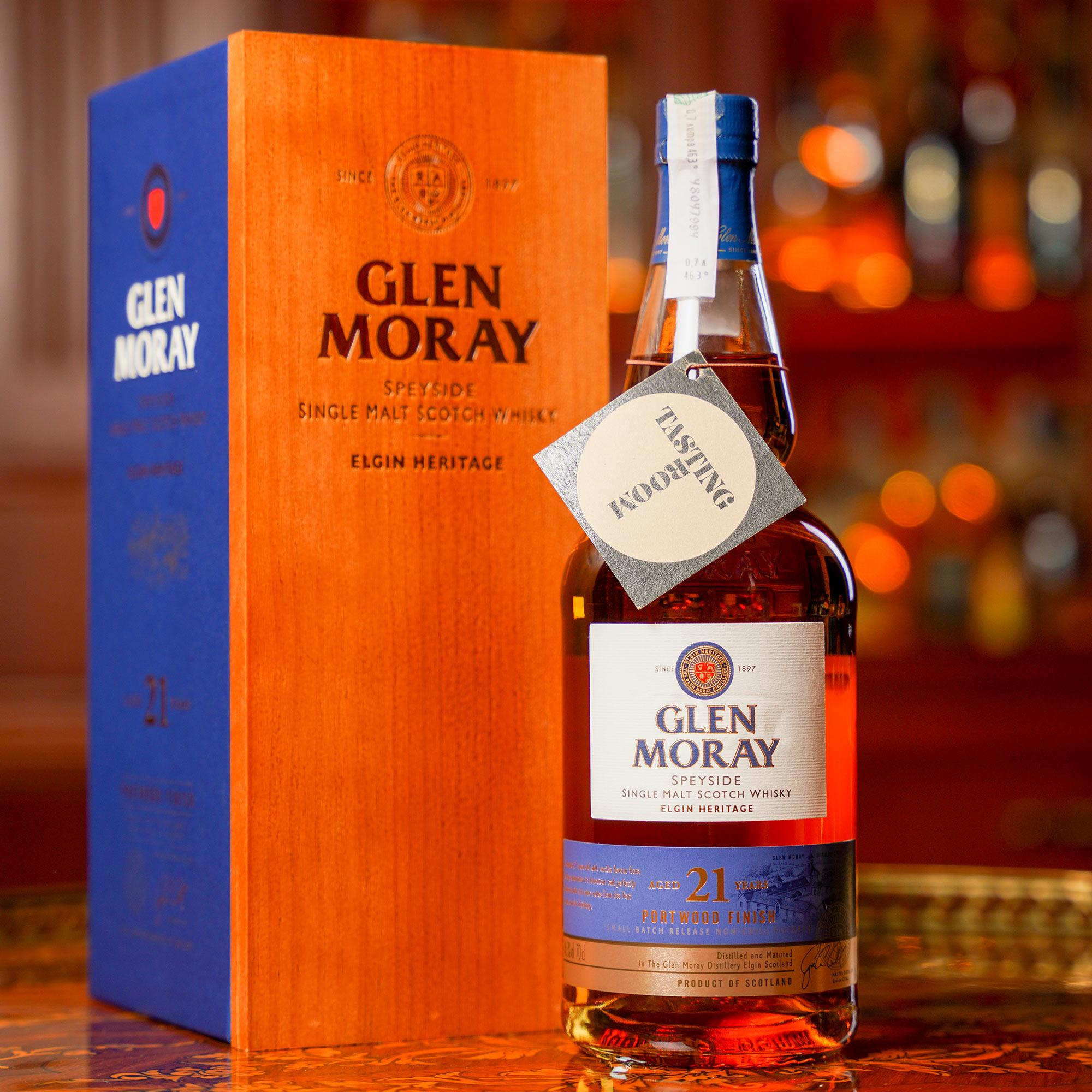Glen Moray 21 YO Portwood Finish /Глен Морей 21 годишен Портууд финиш