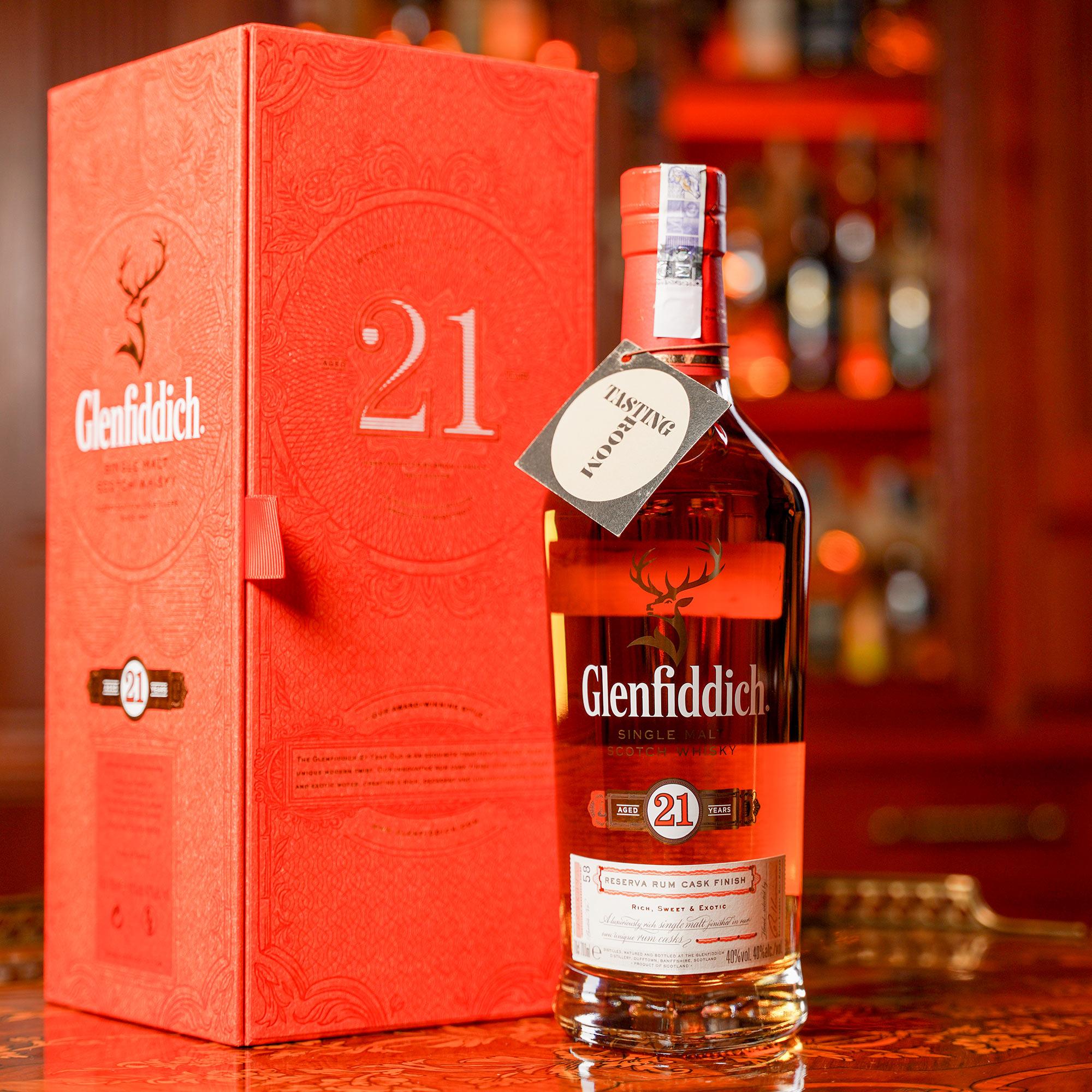 Glenfiddich 21 YO Reserva Rum Cask Finish /Гленфидих 21 годишен Резерва Ром Каск Финиш