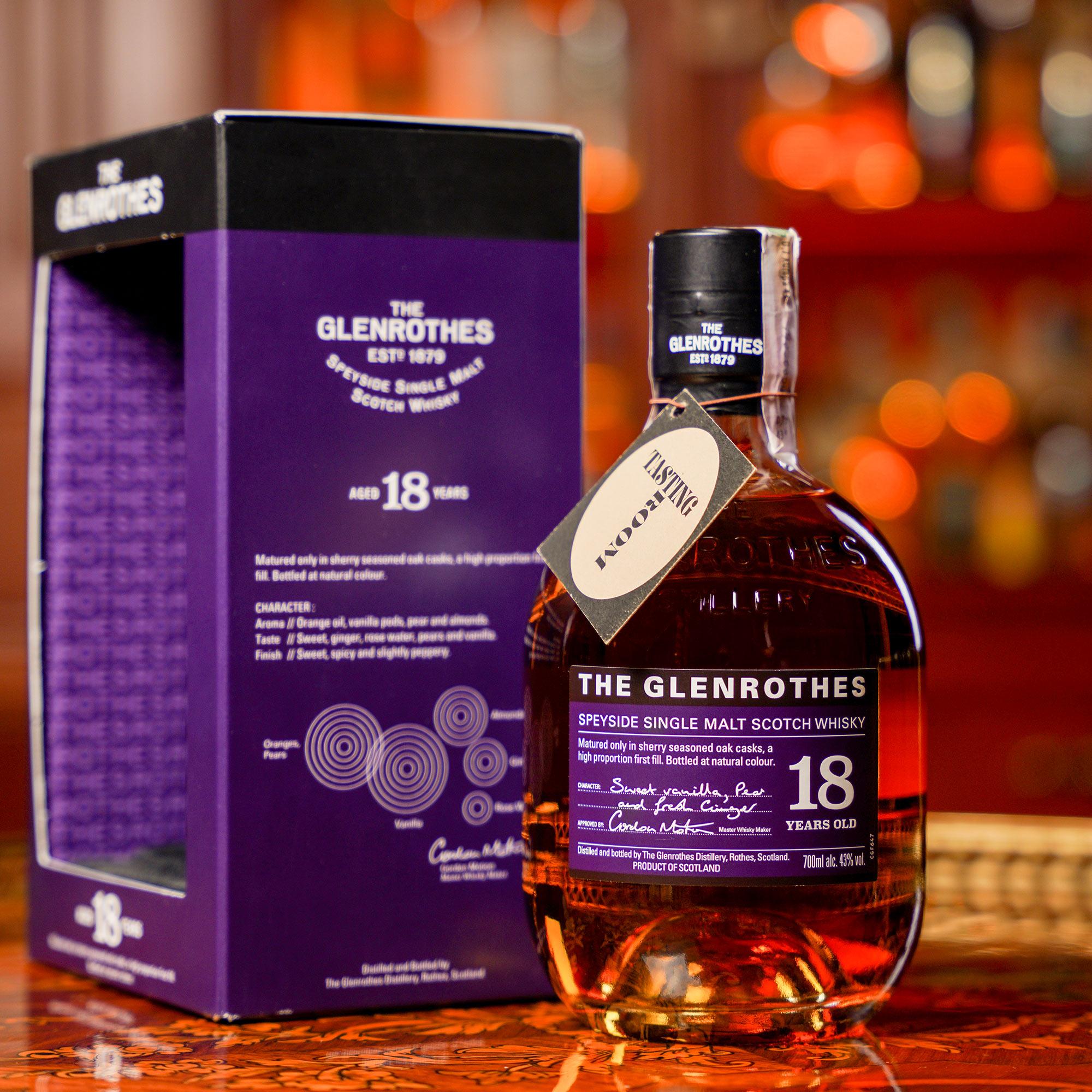 The Glenrothes 18 YO /Гленротес или Гленродс 18 годишен