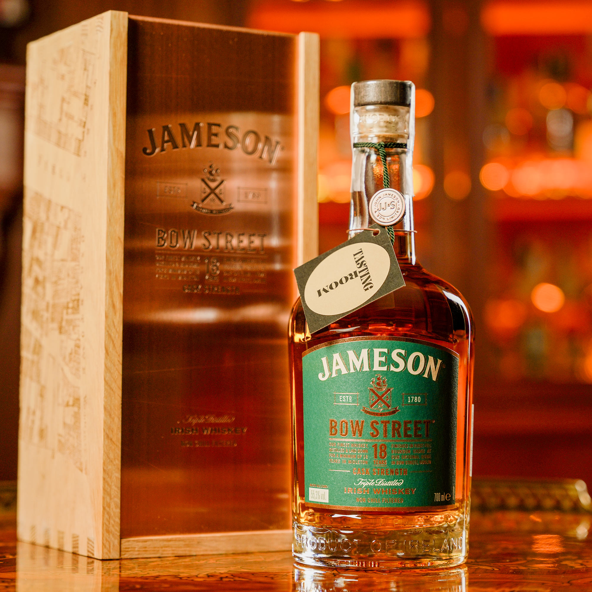 Jameson 18 YO Bow Street Cask Strength /Джеймисън Боу Стрийт Каск Стренгт 18 годишен