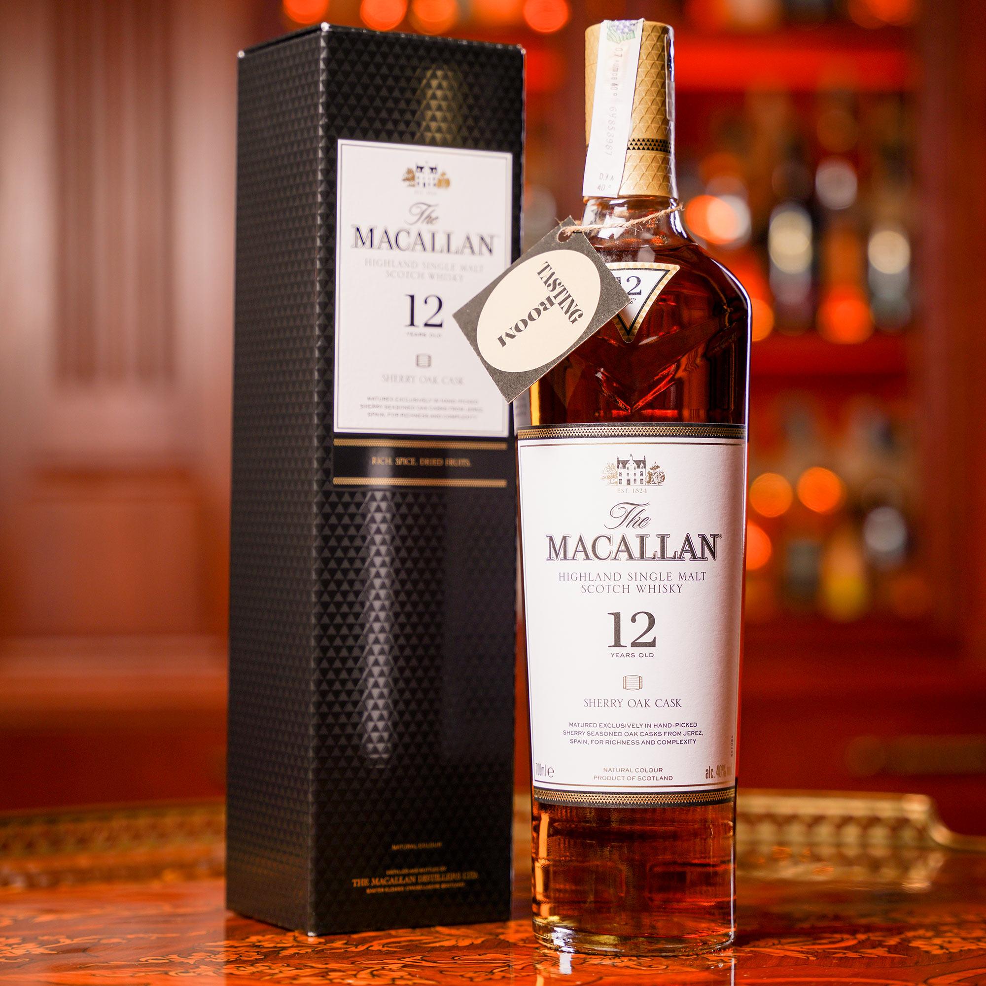 The Macallan 12 YO Sherry Cask /Макалън 12 годишно Шери Каск