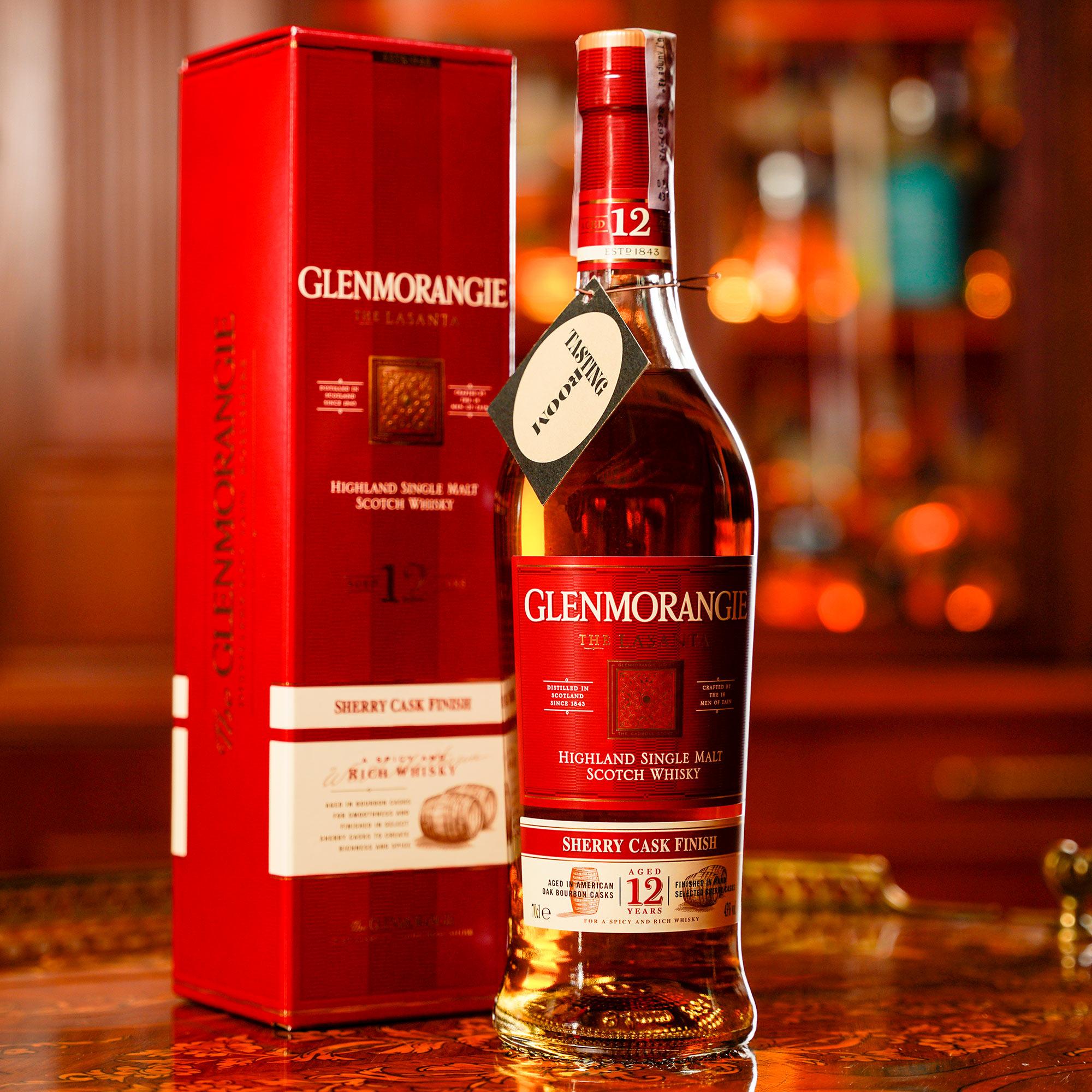 Glenmorangie 12 YO The Lasanta Sherry Cask /Гленморанджи или Гленморанжи Ласанта Шери Каск 12 годишно