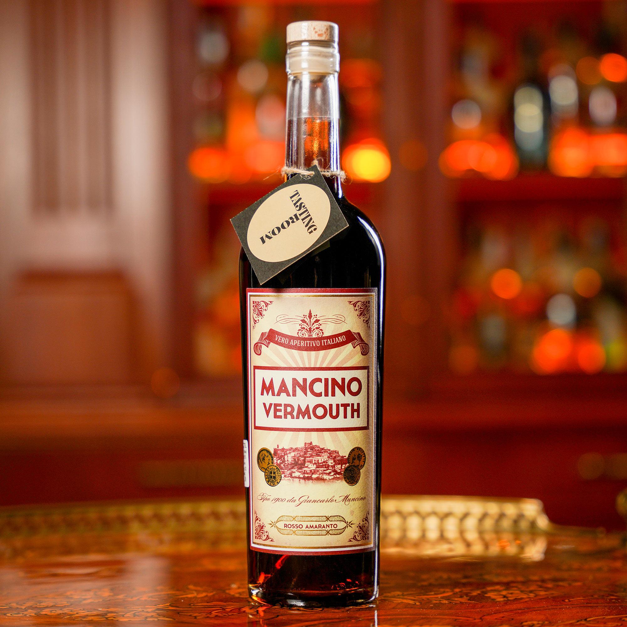 Mancino Rosso Amaranto Vermouth /Манчино Россо Амаранто Вермут
