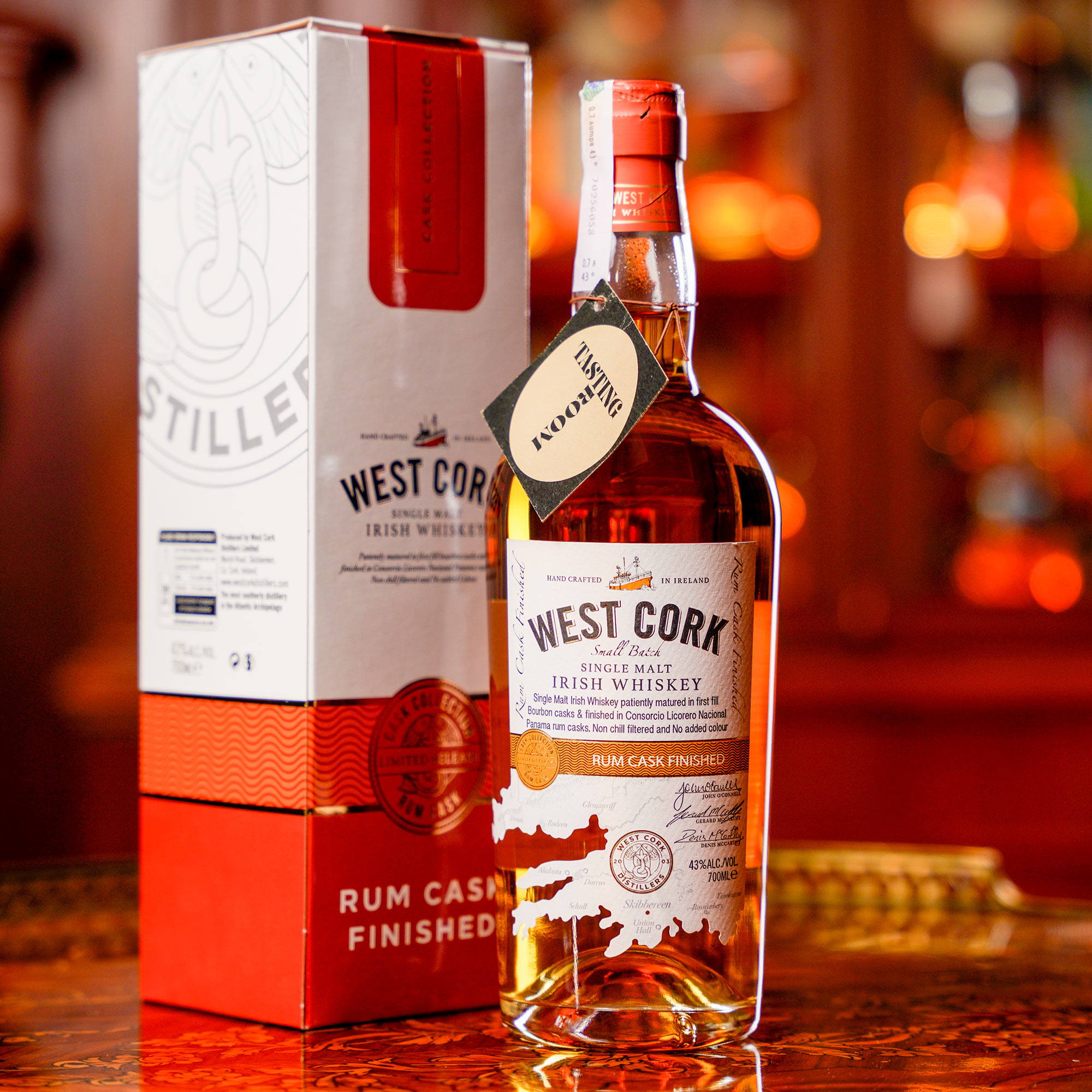West Cork Rum Cask Finished /Уест Корк Ром Каск Финиш