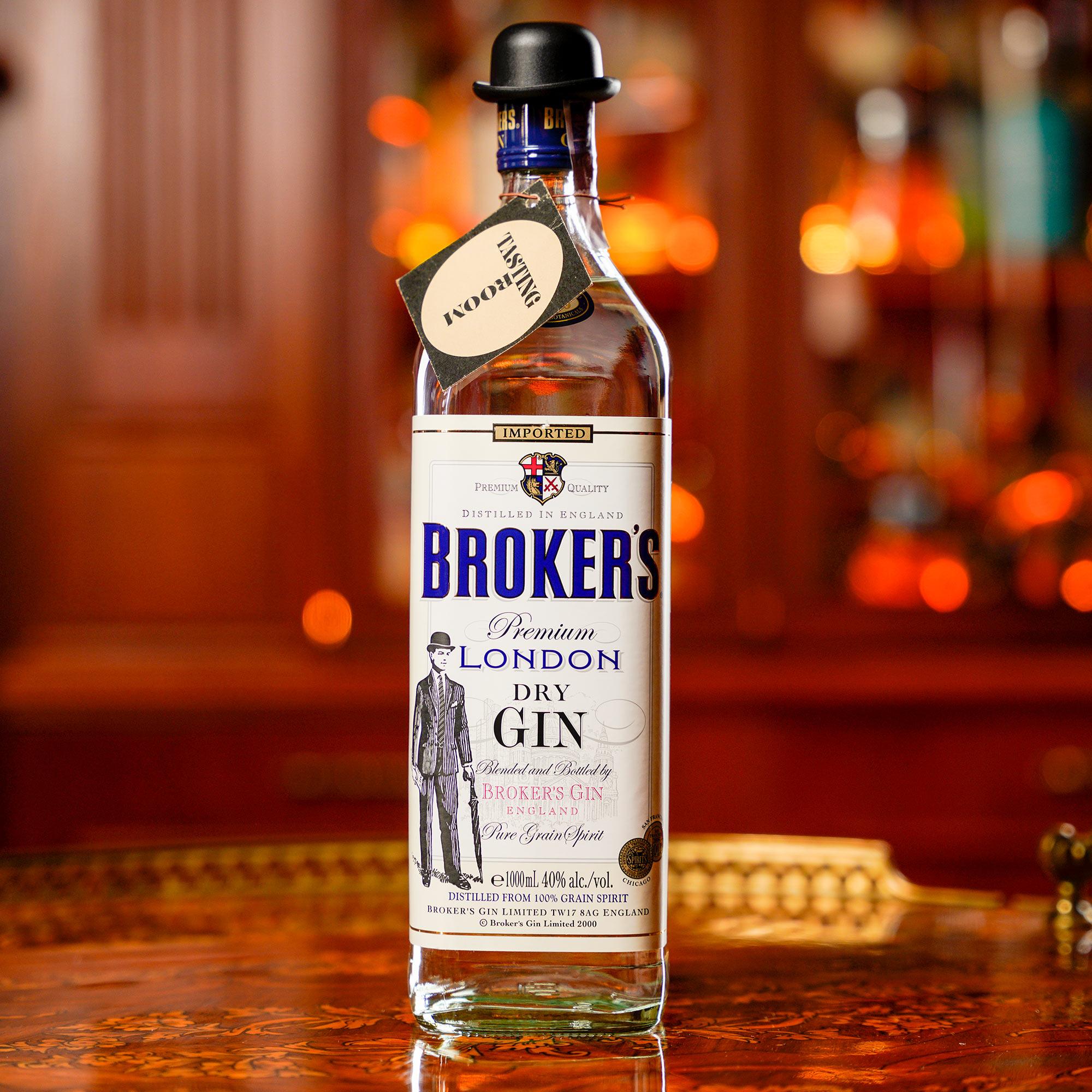 Broker's Gin / Брокърс или Броукърс Джин