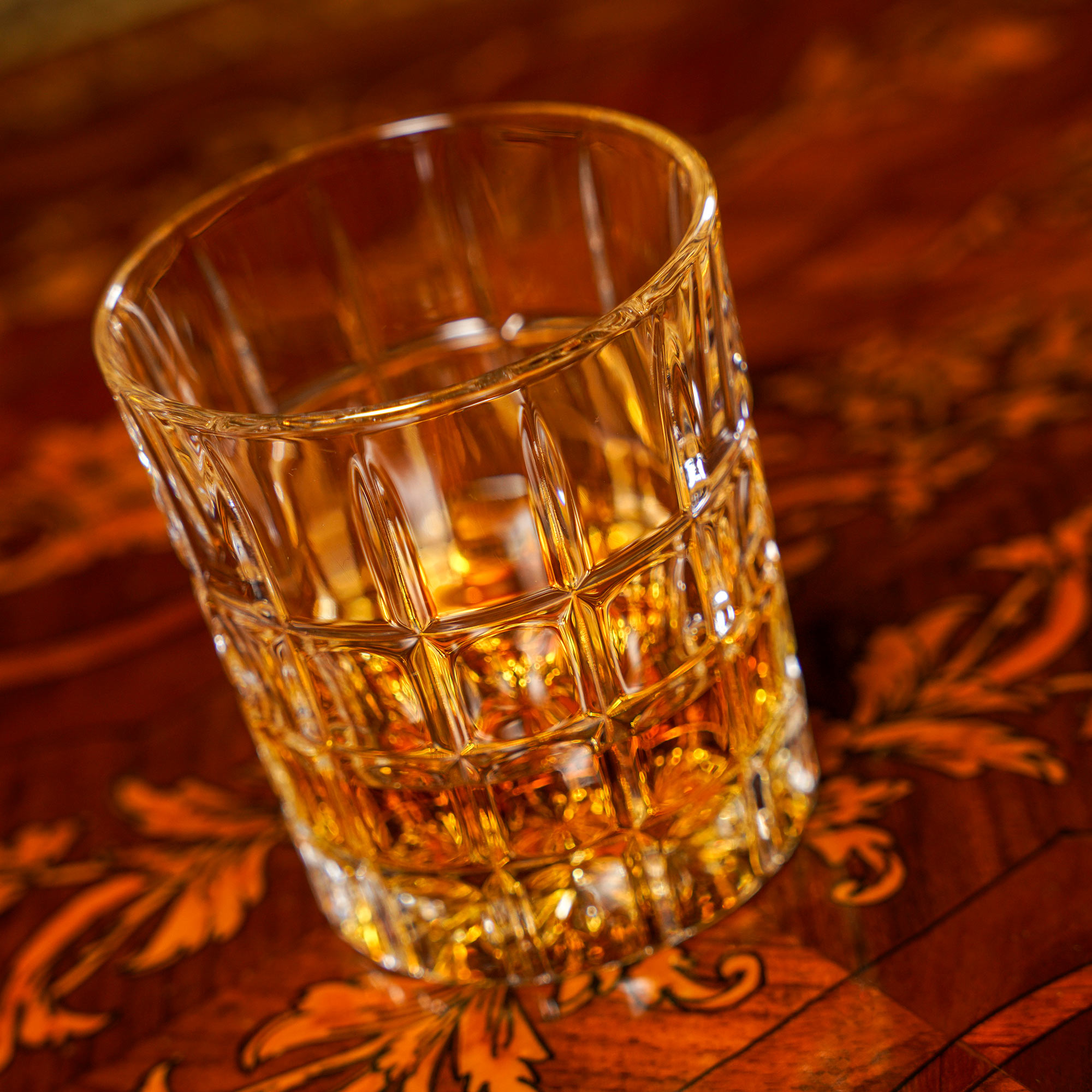Кристална чаша за уиски тип олд фешън