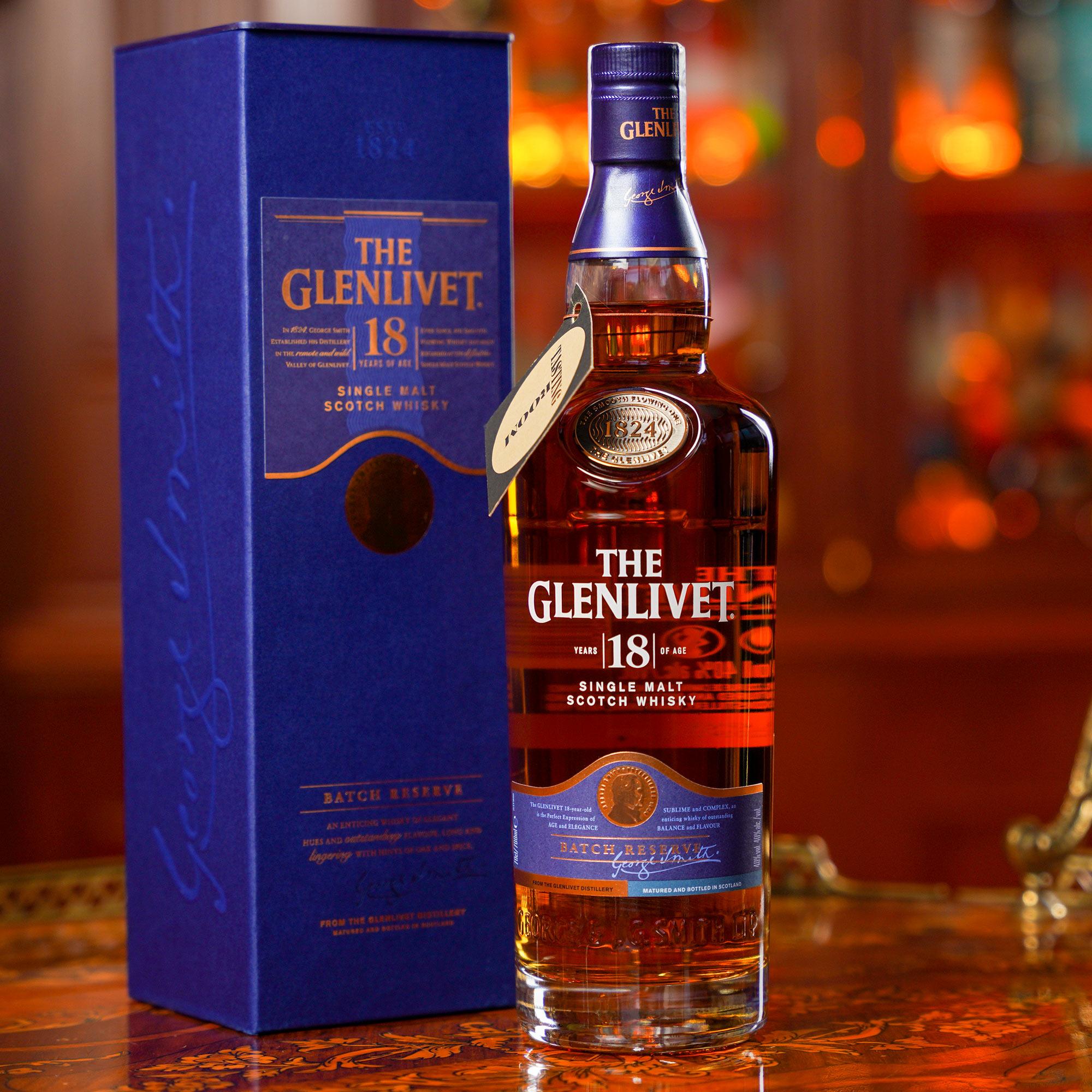 The Glenlivet 18 YO /Гленливет 18 годишен