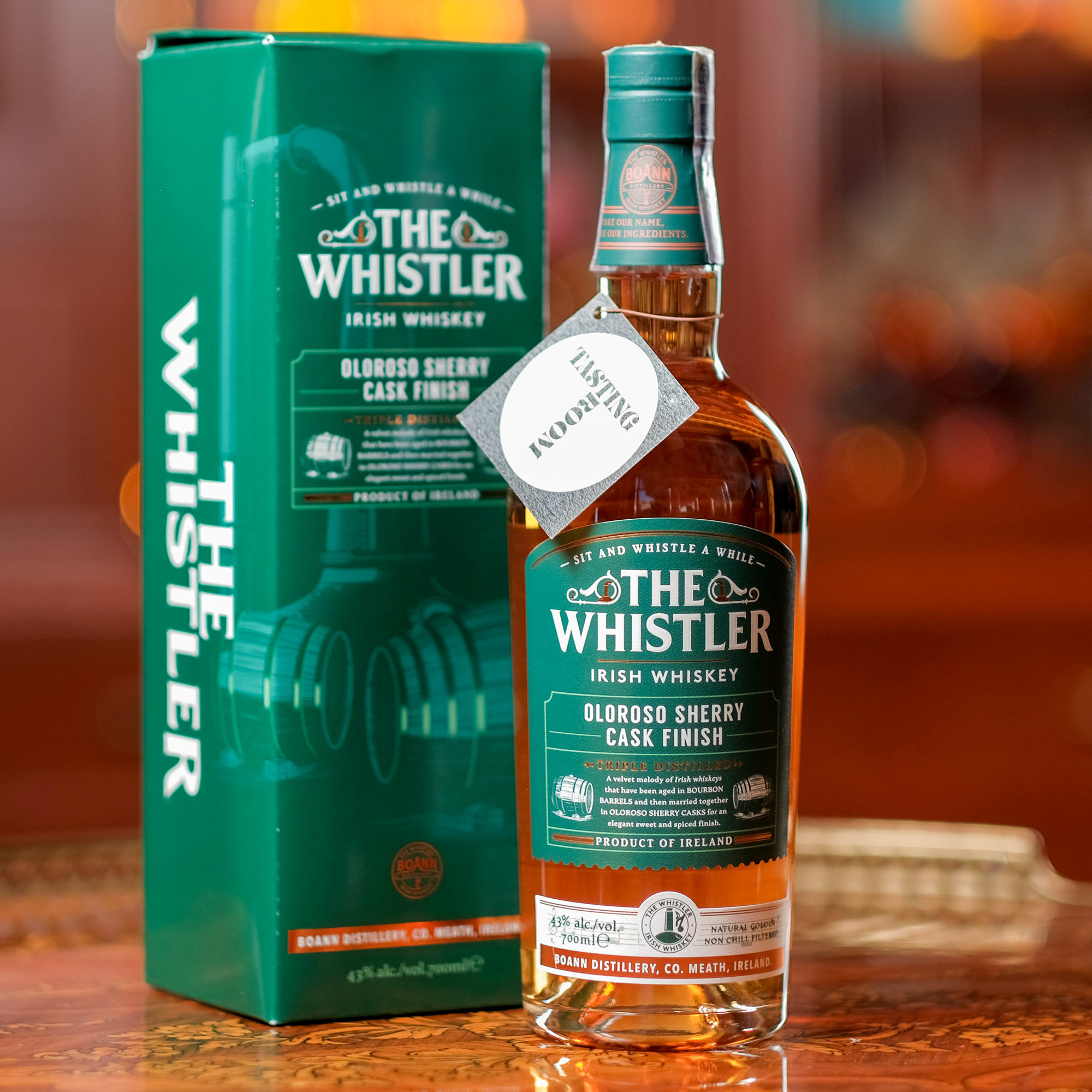 The Whistler Oloroso Sherry Cask Finish /Уислър Олоросо Шери Каск Финиш